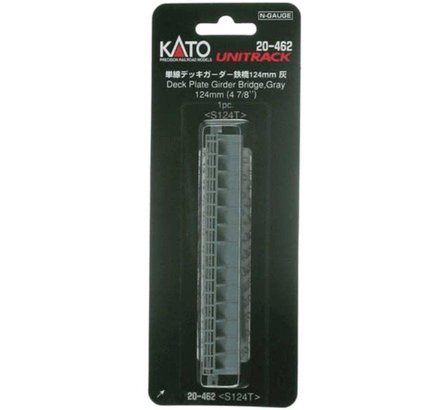 Kato : N 124 mm Plate Girder Bridge (gray)