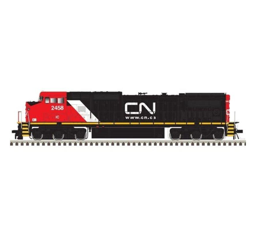 Atlas : HO CN DASH 8-40 C/CW LOCO-GOLD #2458