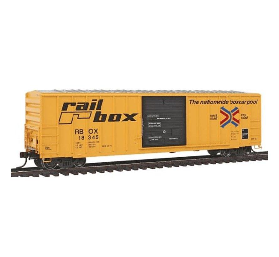 Atlas : HO FMC 5077 SGL DR B.C-RAILBOX 18345