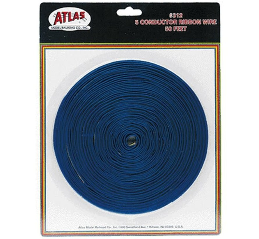 Atlas : 5 CONDUCTOR RIBBON WIRE(50 FT.)