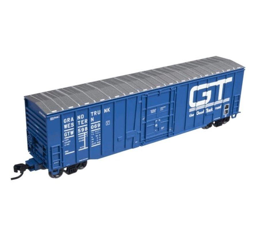 Atlas : N NSC 50' PLG DR BOX CAR-GR.TRK W 598087