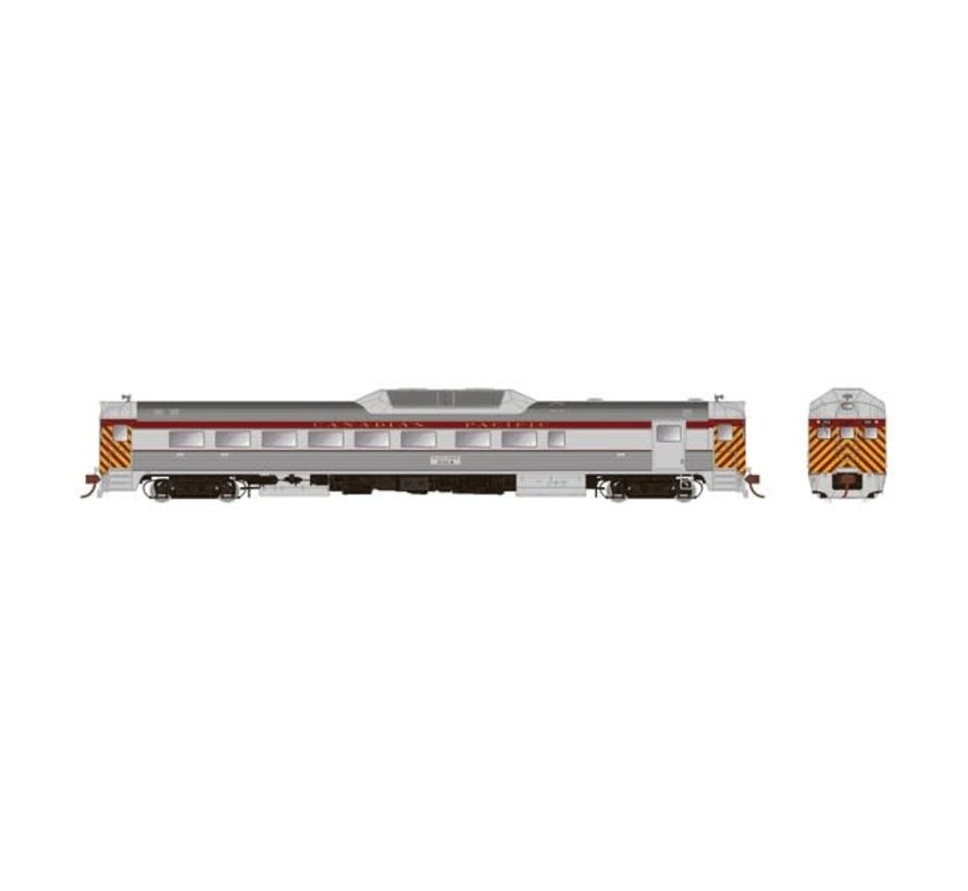 Rapido : HO Budd RDC-2 (DC/Silent) CPR Delivery Ph2 #9104