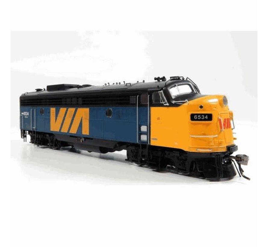 Rapido : HO VIA FP9A Locomotive (DCC+Sound) # 6534
