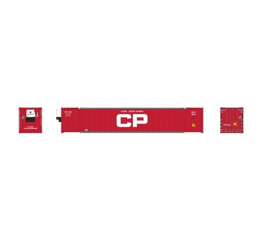 Rapido : HO CP 53' Container (2-pack) Red