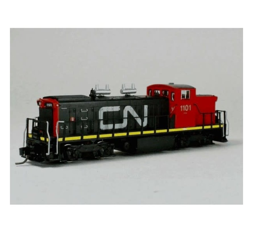Rapido : N CN GMD-1 (DC/Silent) Red Cab #1101
