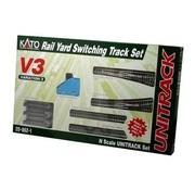 KATO KAT-208-621 - Kato : N Track V3 Rail Yard