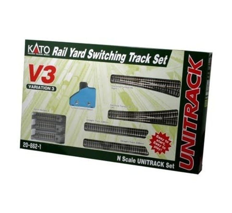 Kato : N Track V3 Rail Yard