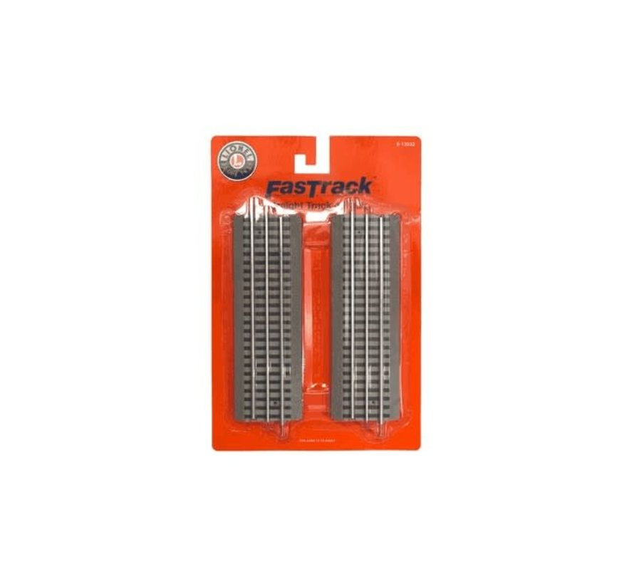 Lionel : O FasTrack Straight (Pack-4)