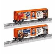 """LIONEL LNL-1838010 - Lionel : O Boxcar """"2018 National Lionel Train Day"""" 1-car"""