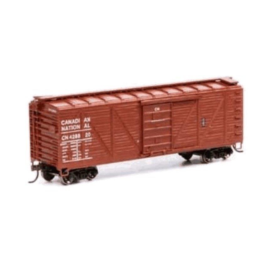 Athearn : CN 40' Rib Wood Car #428820