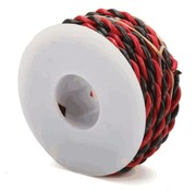 WALTHERS WALT-218160200 - Walthers : Wire 2 conductor 18g 20' black/red