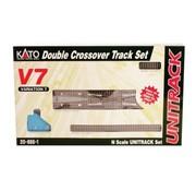 KATO Kato : N Track V7 Double Track Crossover set