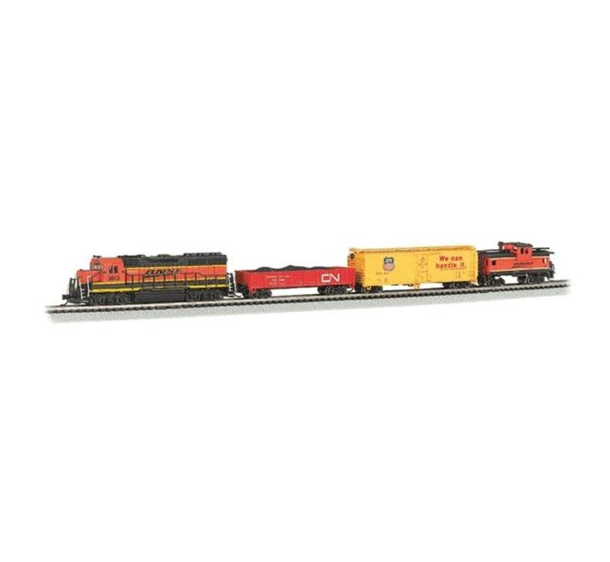 Bachmann : N Roaring Rails BNSF Freight Set