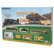 BACHMANN Bachmann : N Whistle Stop Special Steam Freight Set (DCC)