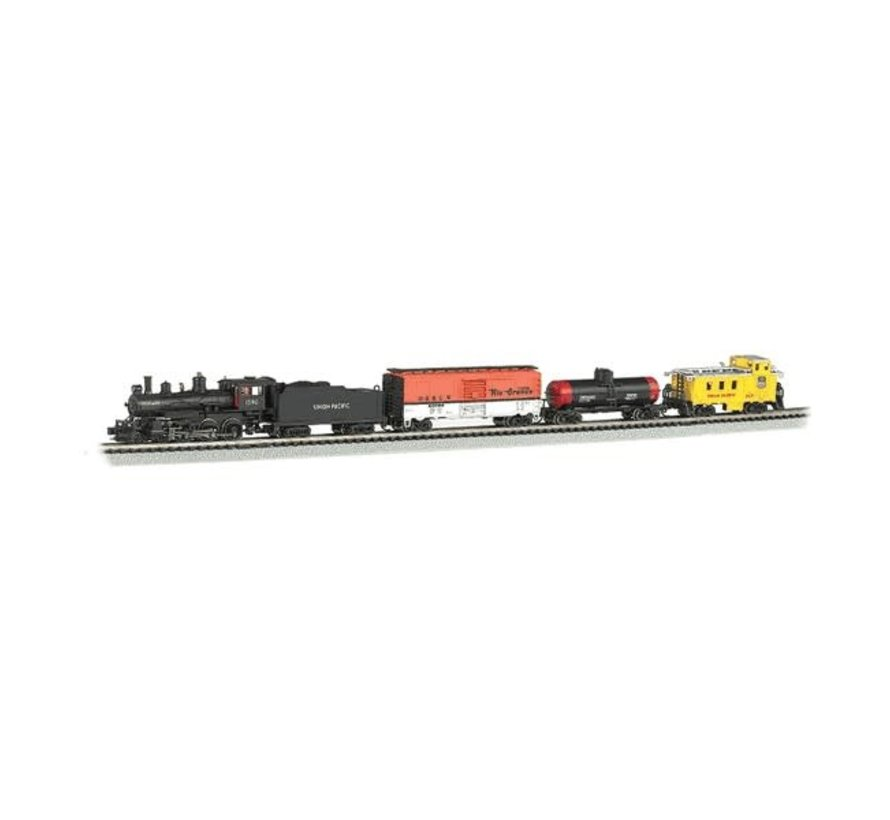 Bachmann : N Whistle Stop Special Steam Freight Set (DCC)