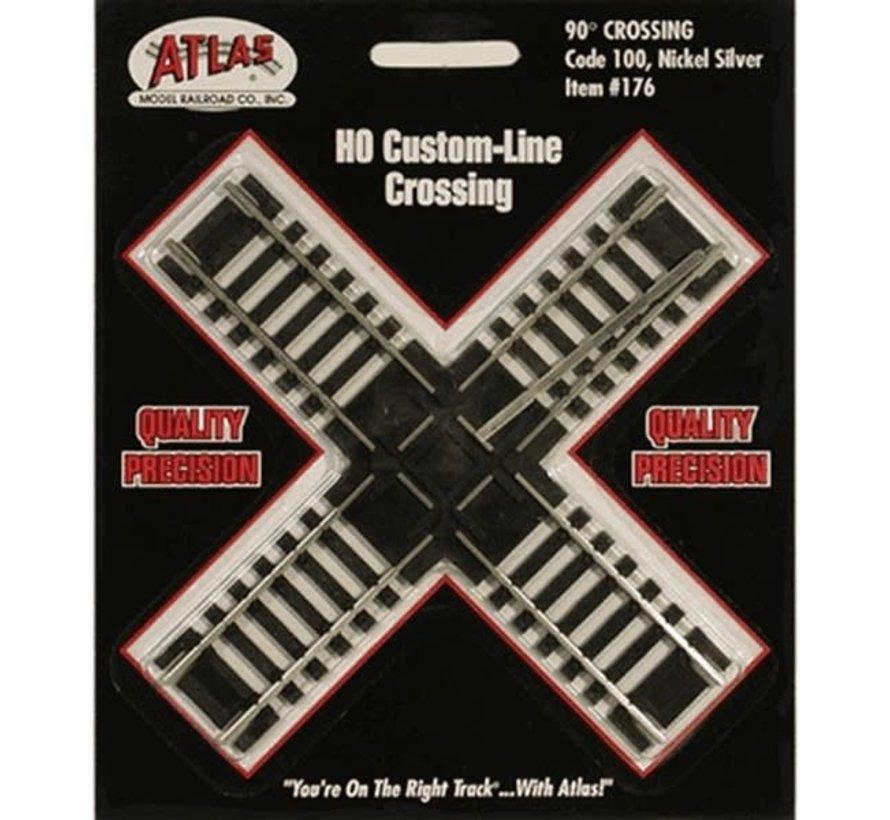 Atlas : HO Code 100 90 deg. Crossing