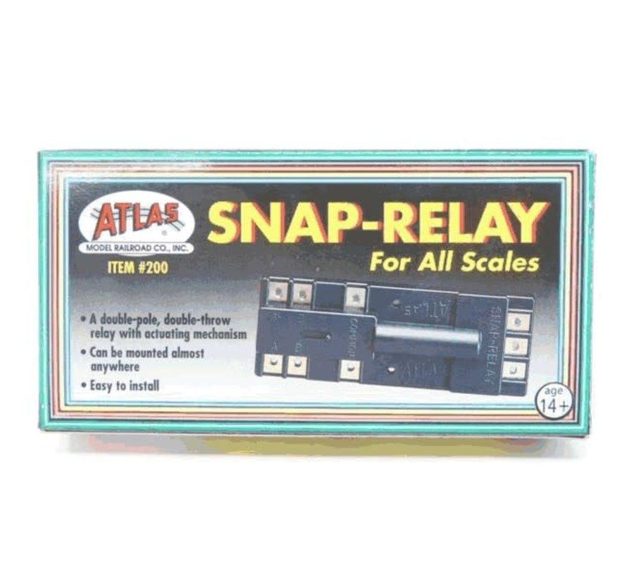 Atlas : HO Snap Relay