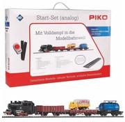 PIKO Piko : HO Steam Starter Set (w/roadbed)
