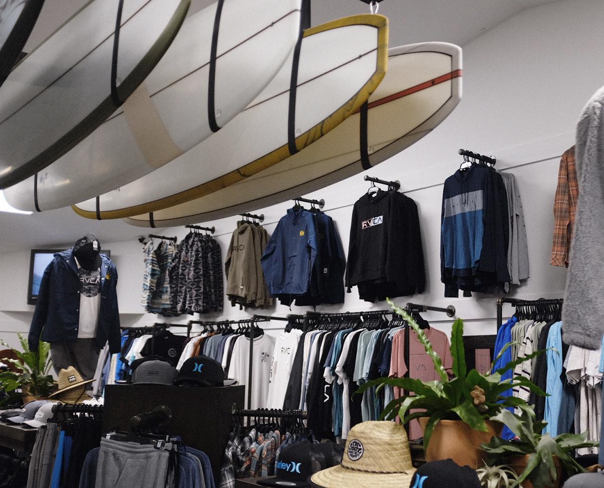surf rack inside
