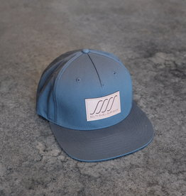 South Swell Surf Shop SSSS Leather Patch Flat Bill Hat