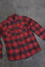 South Swell Surf Shop SSSS Flannel Red