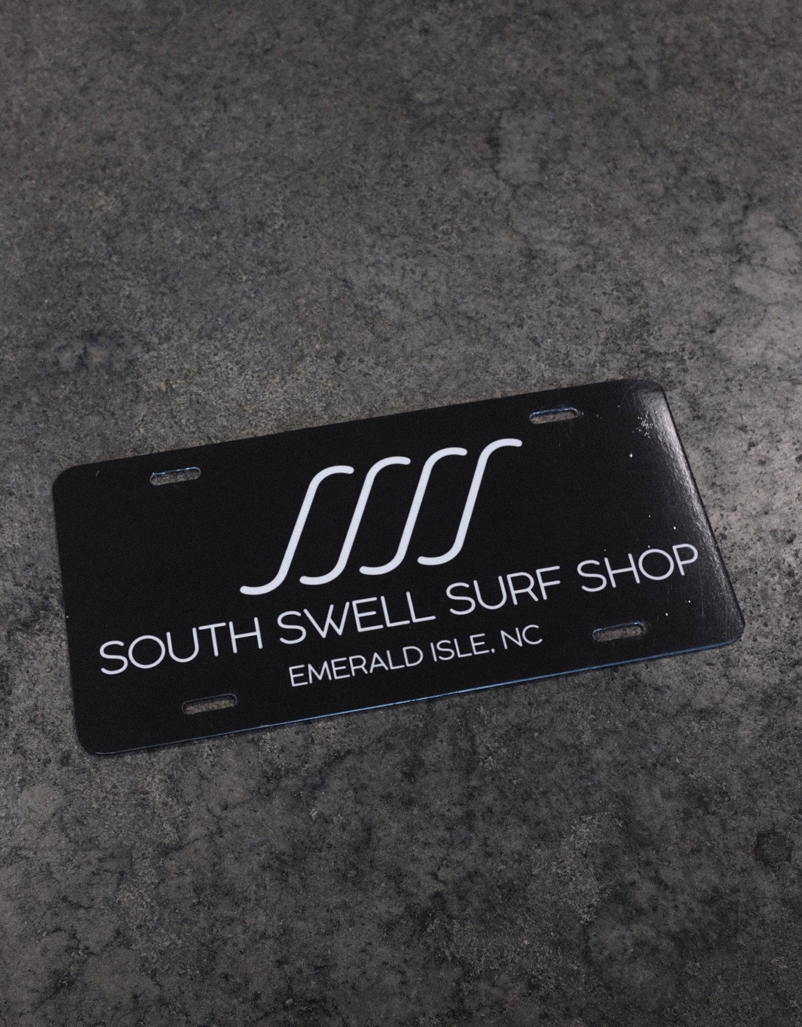 South Swell Surf Shop SSSS License Plate