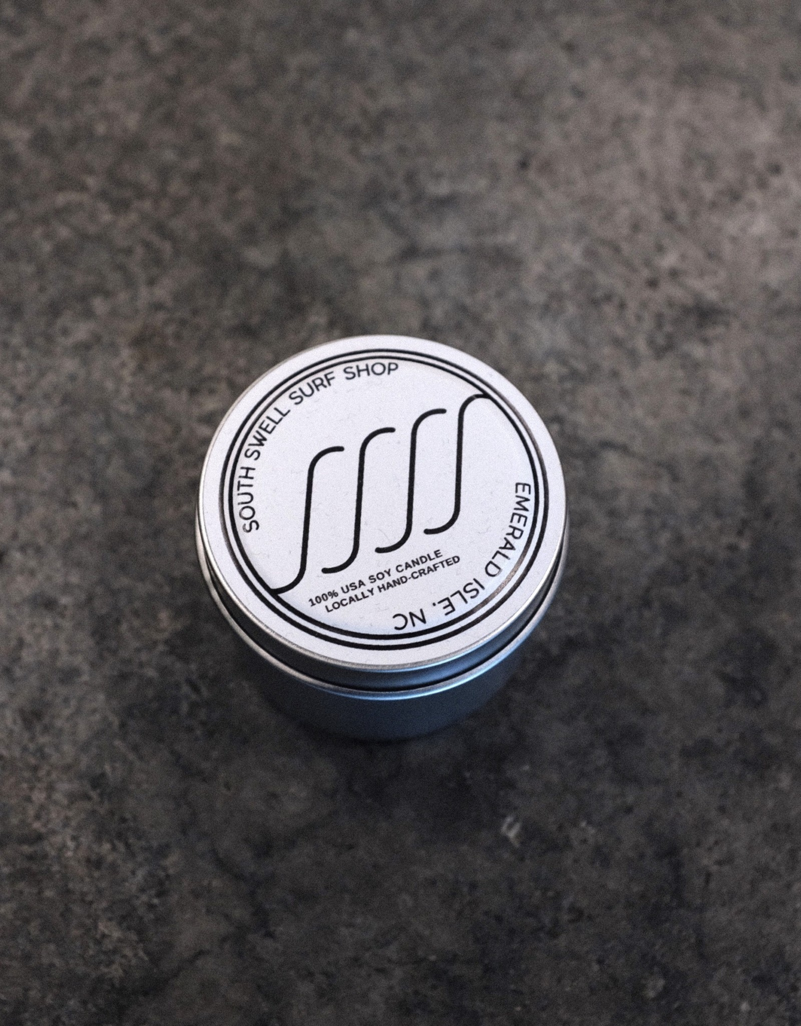 South Swell Surf Shop SSSS Candle Small