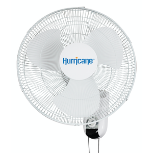 Hurricane Hurricane Classic Oscillating Wall Mount Fan 16 in (48/Plt)