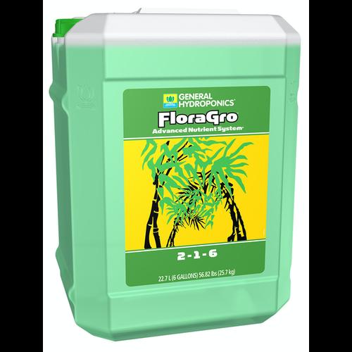General Hydroponics GH Flora Gro 6 Gallon