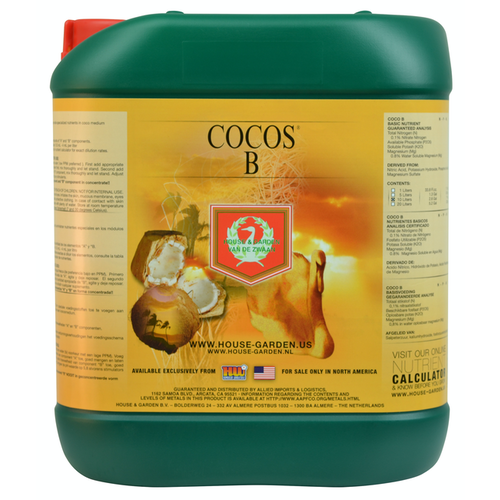 House & Garden House and Garden Cocos B 5 Liter (4/Cs)
