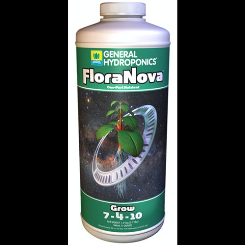 General Hydroponics GH FloraNova Grow Quart (12/Cs)
