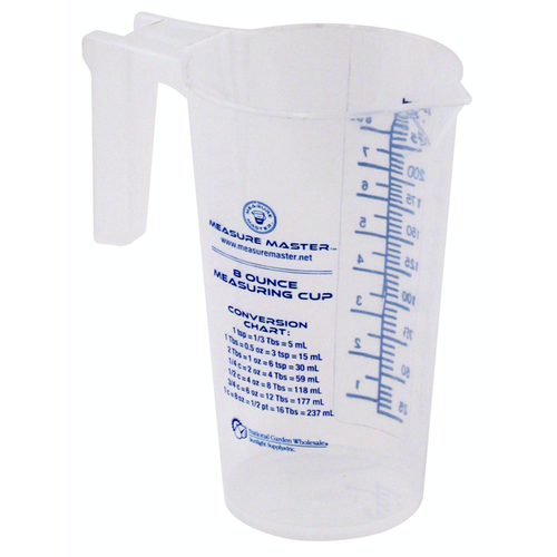 Measure Master Graduated Round Container 8 oz / 250 ml (40/Cs)