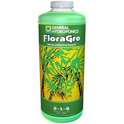 General Hydroponics GH Flora Gro Quart (12/Cs)