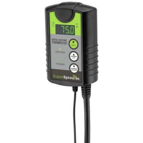 Super Sprouter Digital Heat Mat Thermostat (10/Cs)