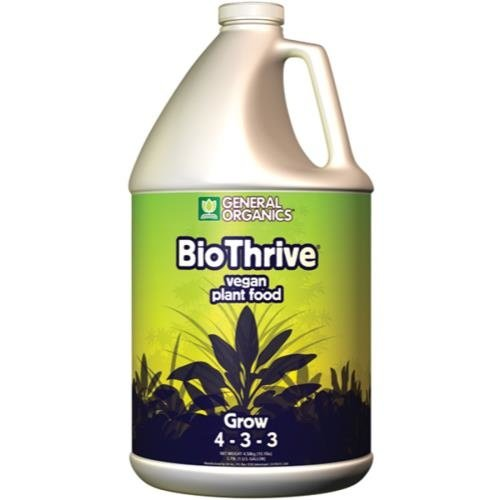 General Hydroponics GH General Organics BioThrive Grow Gallon (4/Cs)