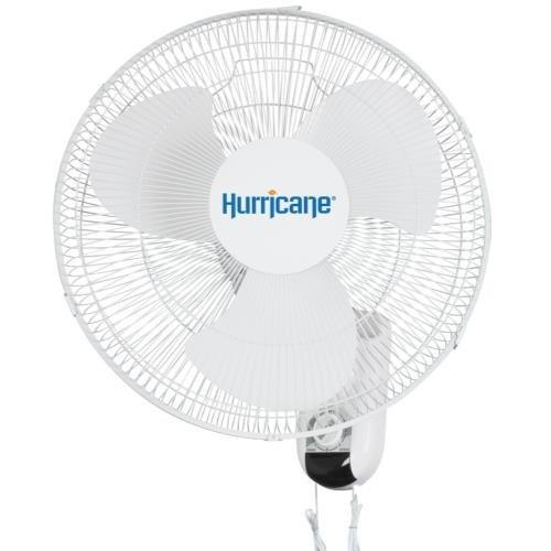 Hurricane Hurricane Classic Oscillating Wall Mount Fan 16 in (48/Plt)
