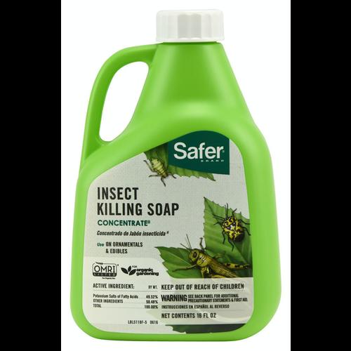 Safer Safer Insect Killing Soap II Conc. 16 oz (6/Cs)