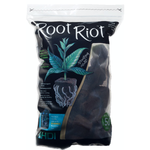 Hydro Dynamics Root Riot Replacement Cubes - 50 Cubes (20/Cs)