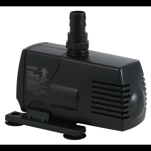 EcoPlus Eco 264 Fixed Flow Submersible/Inline Pump 290 GPH (18/Cs)