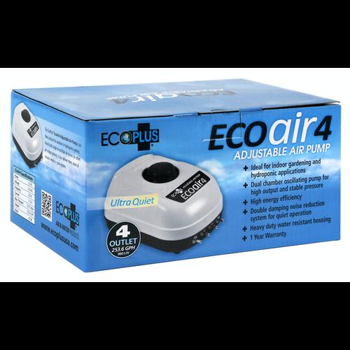 EcoPlus Eco Air 4 Four Outlet - 6.5 Watt 253 GPH (16/Cs)