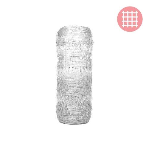 Grow1 6.5' x 330' (WHITE) VineLine Plastic Garden Netting Roll