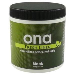 Ona Ona Block Fresh Linen 6 oz (48/Cs)