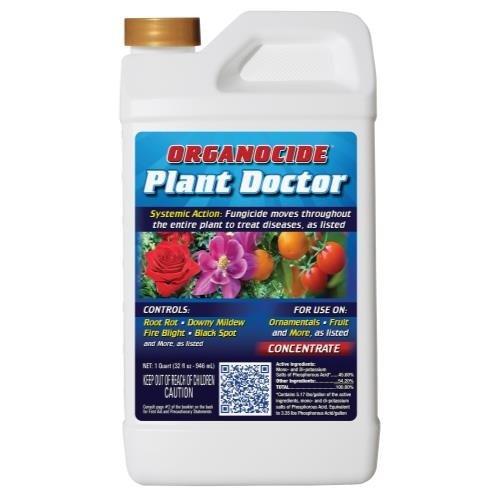 Organocide Plant Doctor Systemic Fungicide Conc. Quart (12/Cs)