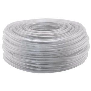 Hydro Flow Vinyl Tubing Clear 1/4 in ID - 3/8 in OD 100 ft Roll