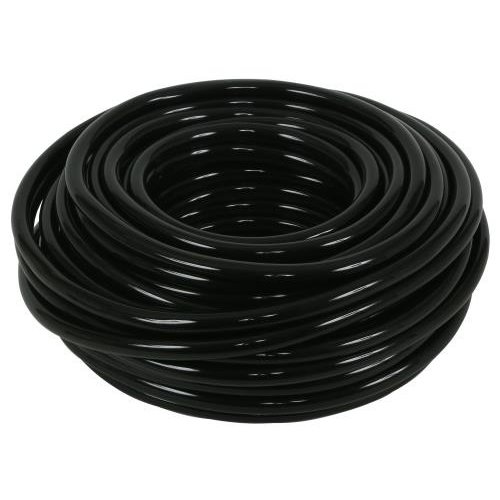Hydro Flow Vinyl Tubing Black 3/8 in ID - 1/2 in OD 100 ft Roll