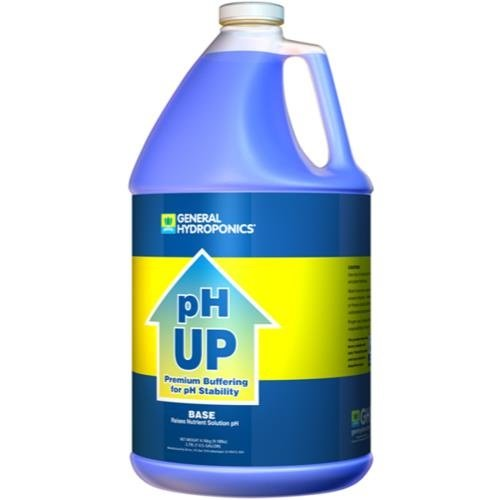 General Hydroponics GH pH Up Liquid Gallon (4/Cs)
