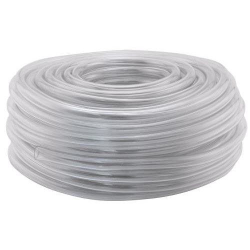 Hydro Flow Vinyl Tubing Clear 1/4 in ID - 3/8 in OD 100 ft Roll