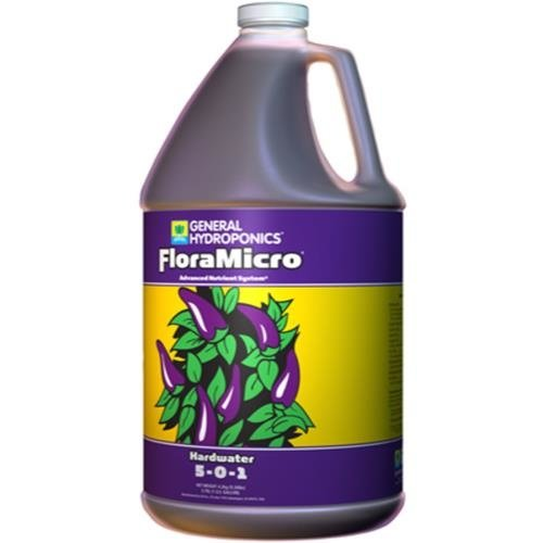 General Hydroponics GH Hardwater Flora Micro Gallon (4/Cs)