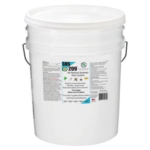 Sierra Natural Sciences SNS 209 Systemic Pest Control Conc. 5 Gallon