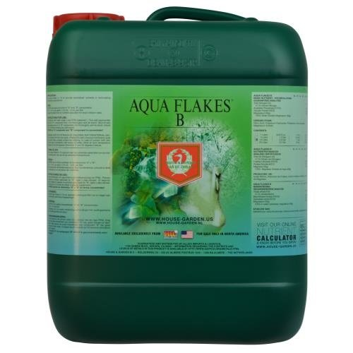 House & Garden House and Garden Aqua Flakes B 10 Liter (2/Cs)